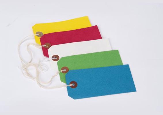 coloured strung